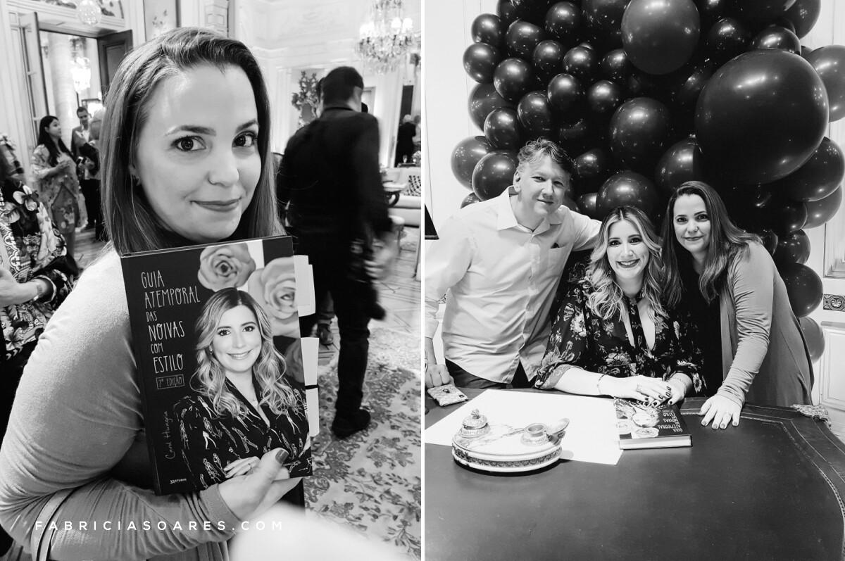 Lançamento Livro Carol Hungria